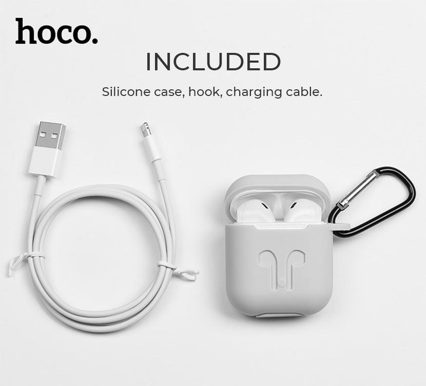 hoco news es26 original series apple wireless headset include en