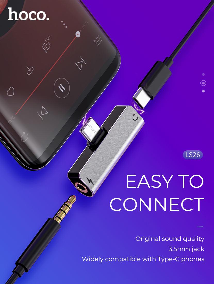 hoco news ls26 ls25 ls24 digital audio converter connect en