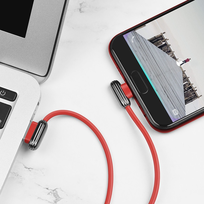hoco u60 soul secret charging data cable for micro usb charger