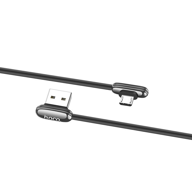 hoco u60 soul secret charging data cable for micro usb flexible