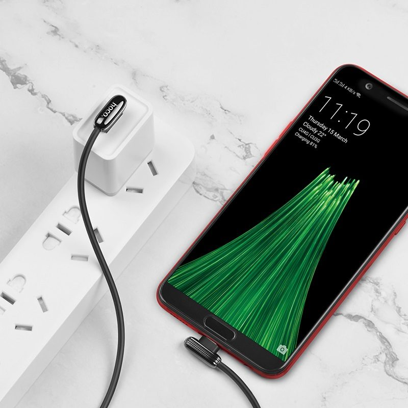 hoco u60 soul secret charging data cable for micro usb overview