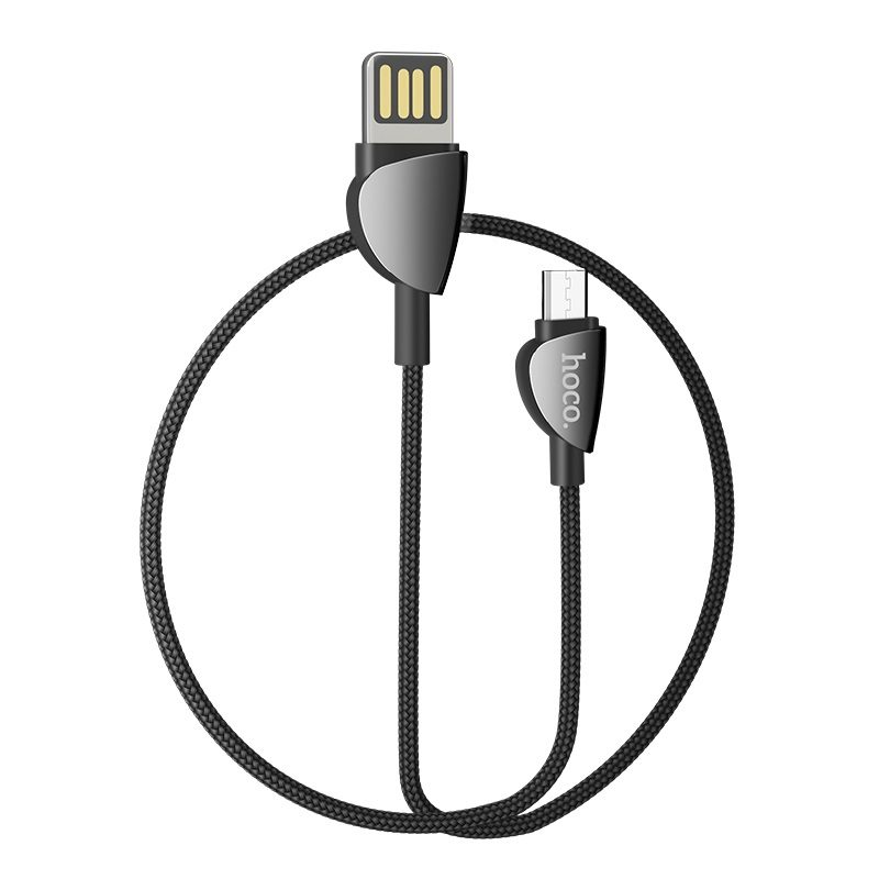 hoco u62 simple charging data cable for micro usb rounded