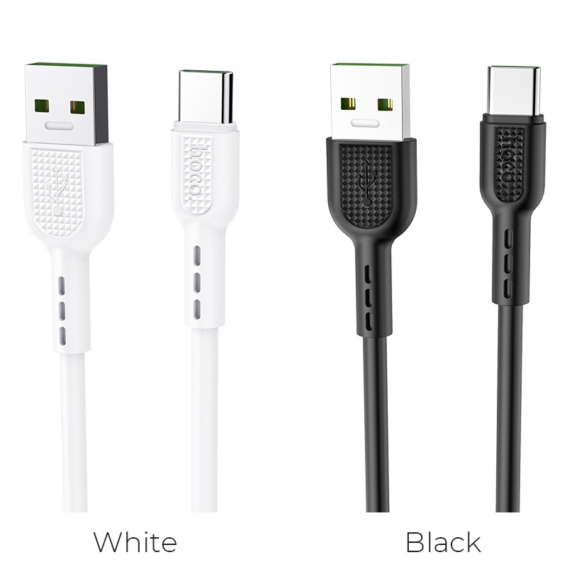 hoco x33 surge type c 5a charging data cable colors