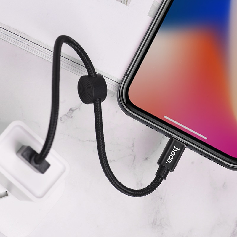 hoco x35 premium charging data cable for lightning overview