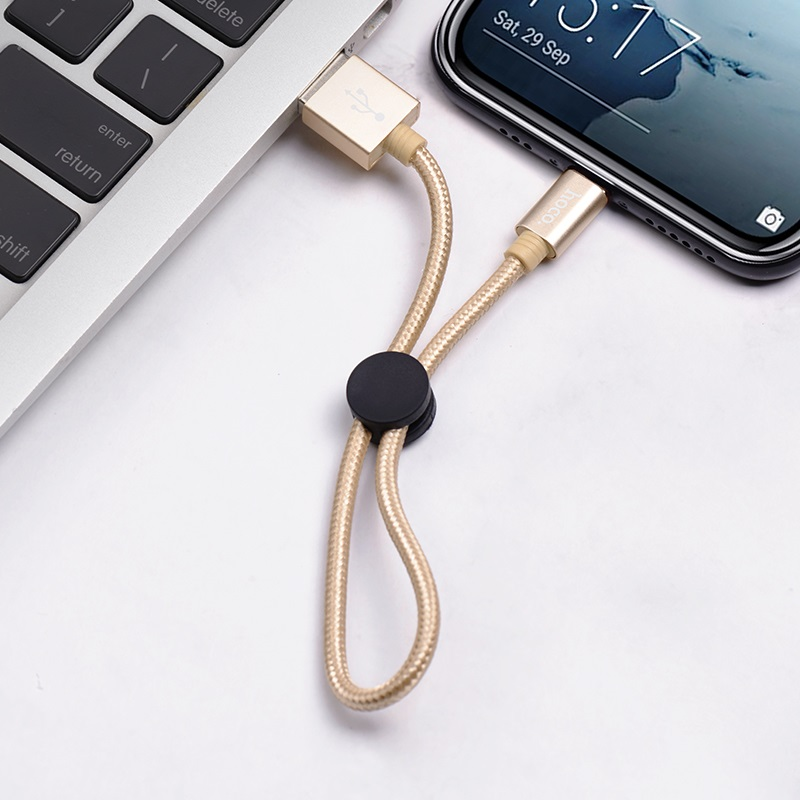 hoco x35 premium charging data cable for type c interior gold