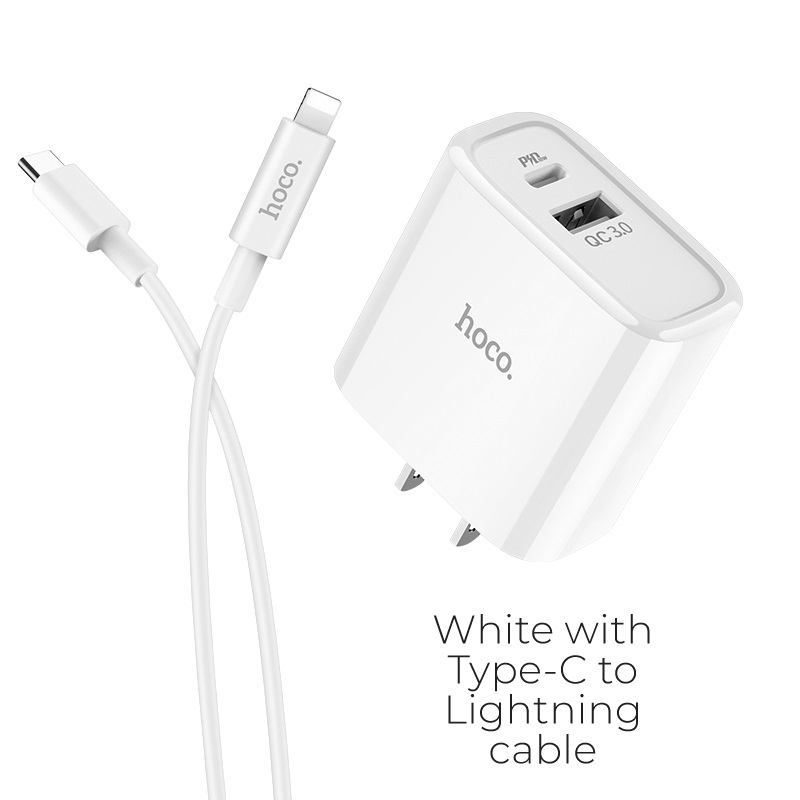 c57 type c lightning white