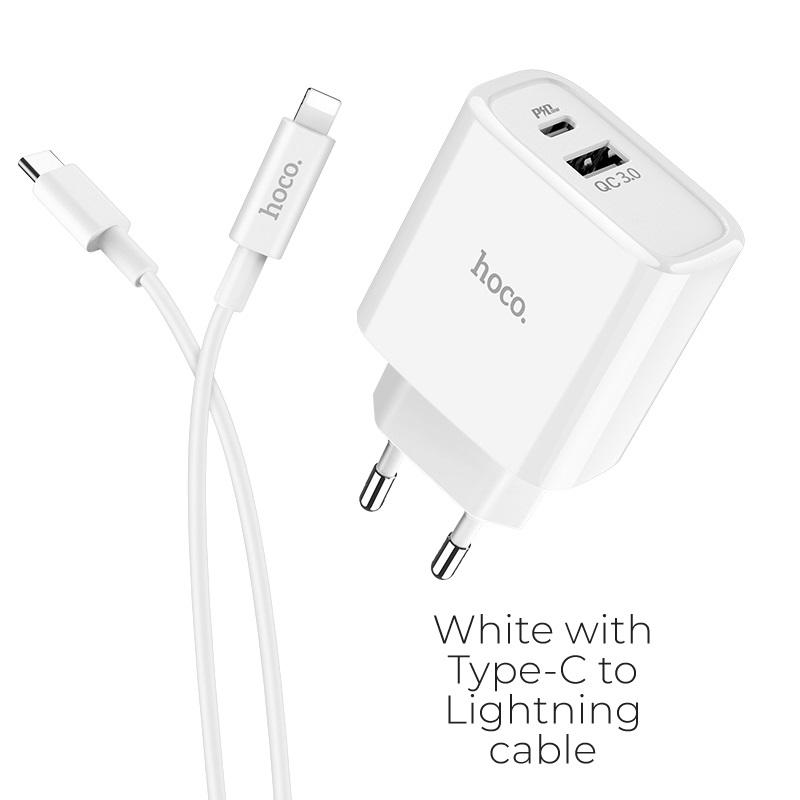 c57a type c lightning white