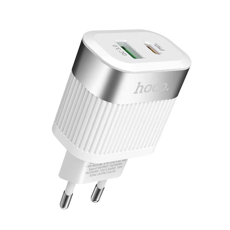 hoco c58a prominent pd qc30 charger eu top