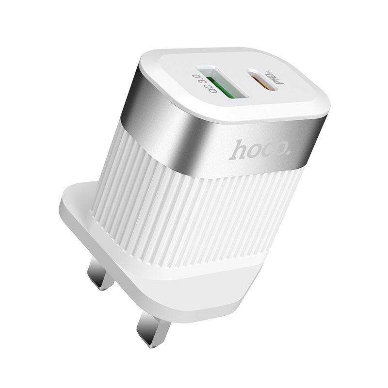 hoco c58b prominent pd qc30 wall charger uk top