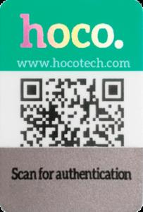 hoco double anti counterfeiting identification