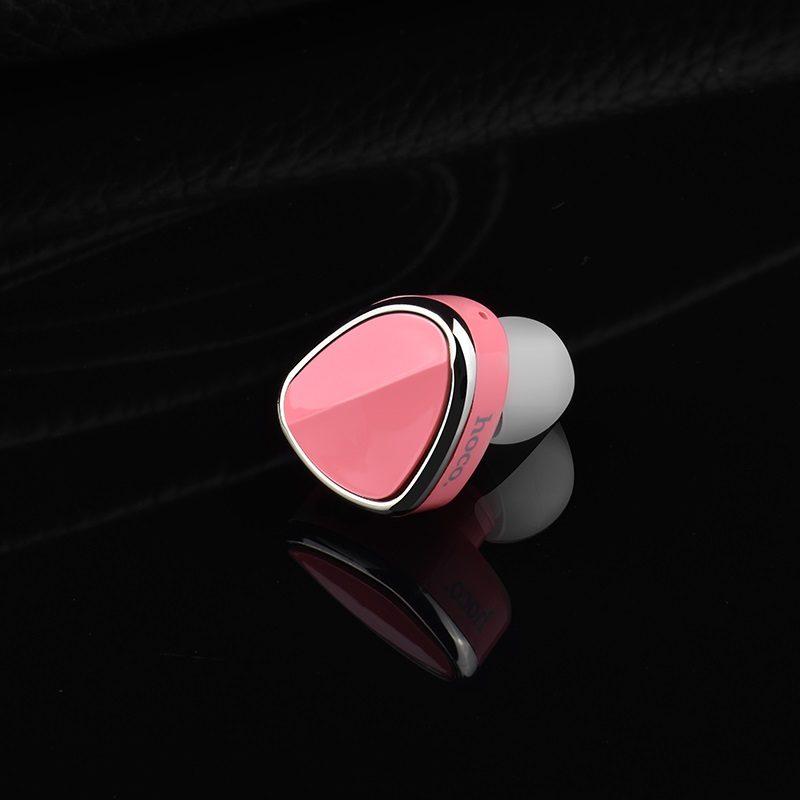 hoco e7 plus la joie wireless headset interior pink