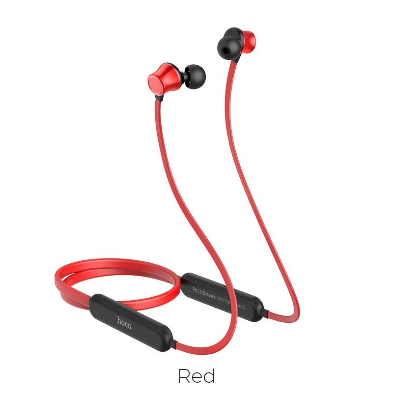 hoco es29 graceful sports wireless headset red