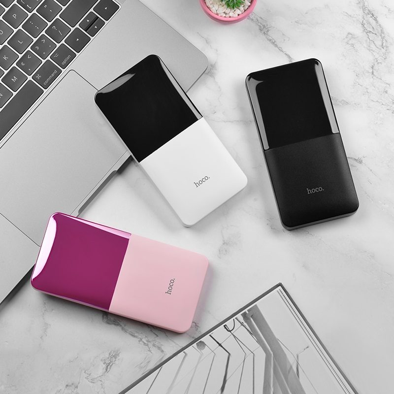 hoco j42 high power mobile power bank 10000mah three colors