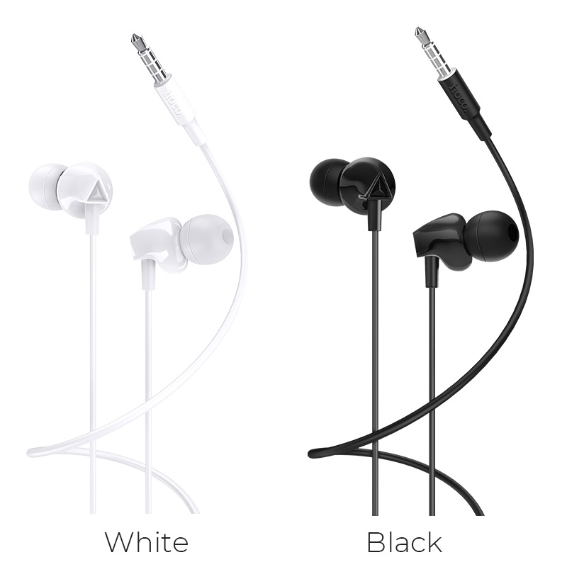 hoco m60 perfect sound universal wired earphones with mic colors