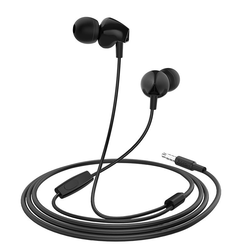 hoco m60 perfect sound universal wired earphones with mic inline control