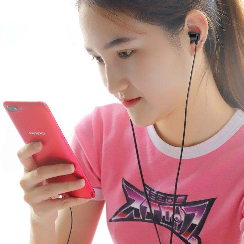 hoco m63 ancient sound earphones with mic women