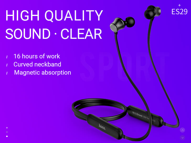 hoco news es29 graceful sports wireless headset banner en