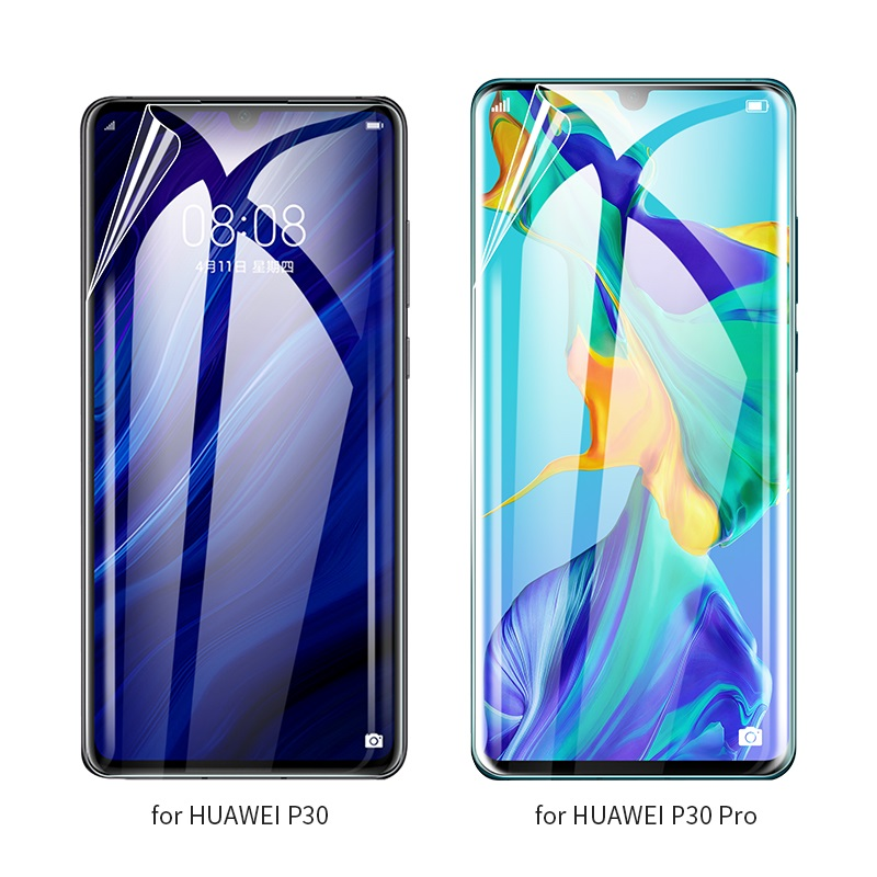 hoco quantum fast attach g3 hd film for huawei p30 p30 pro models