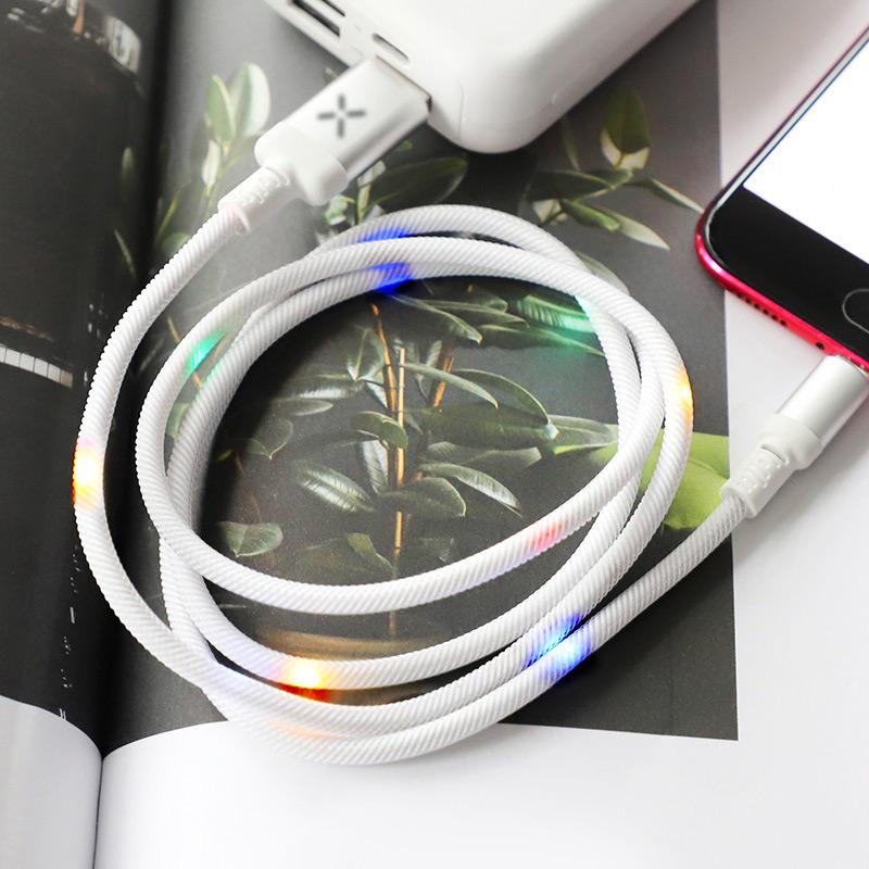 hoco u63 spirit charging data cable for micro usb disco