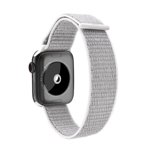 hoco wb06 tortuous nylon sports strap for apple watch back