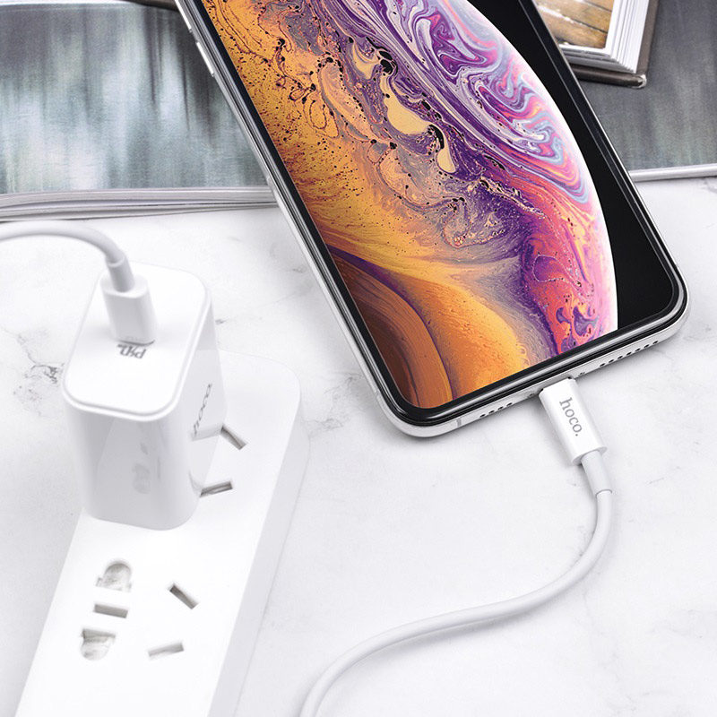hoco x36 swift pd charging data cable lightning interior