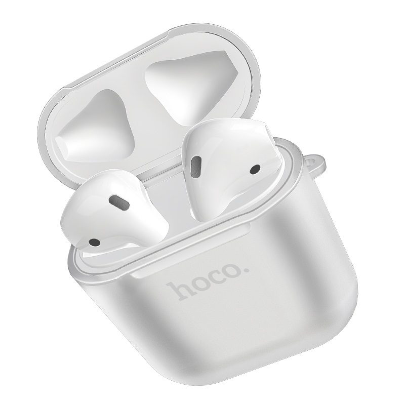 hoco airpods 1 2 wireless headset tpu case earphones