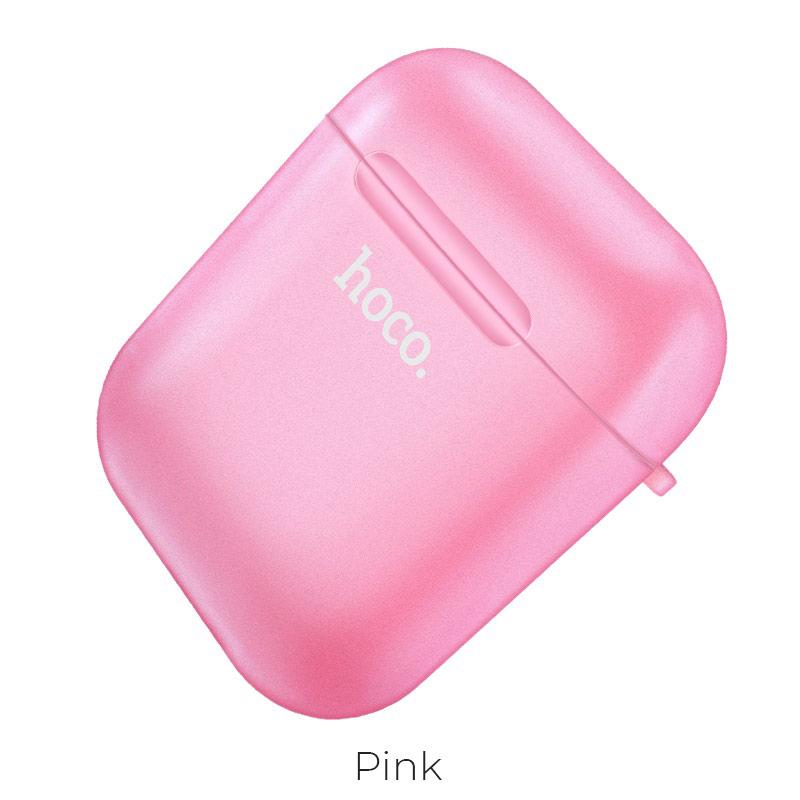 airpods 1 2 tpu case pink
