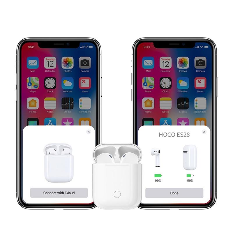 hoco es28 original series apple wireless headset connection