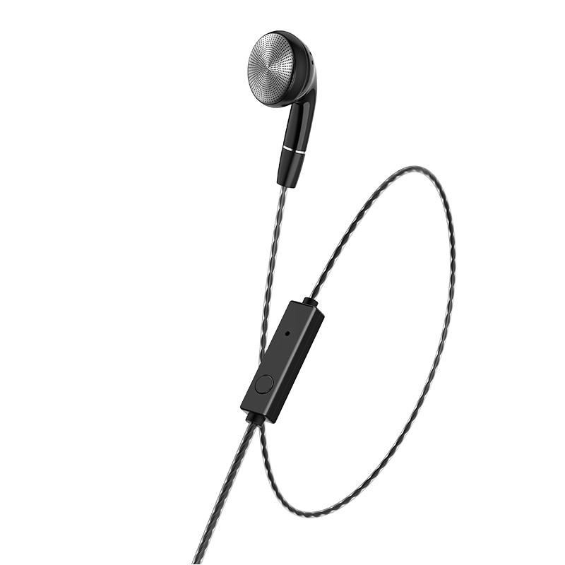 hoco m61 nice tone single ear universal earphones with mic flexible
