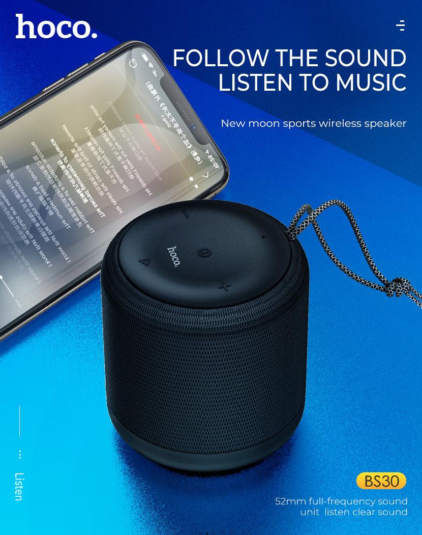 hoco news bs30 new moon sports wireless speaker music en