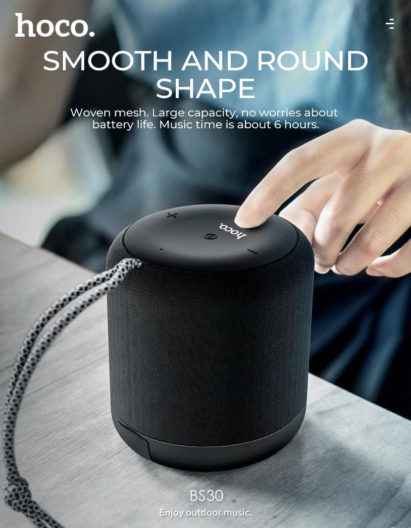 hoco news bs30 new moon sports wireless speaker shape en