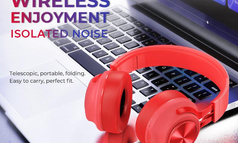 hoco news w22 talent sound wireless headphones banner en