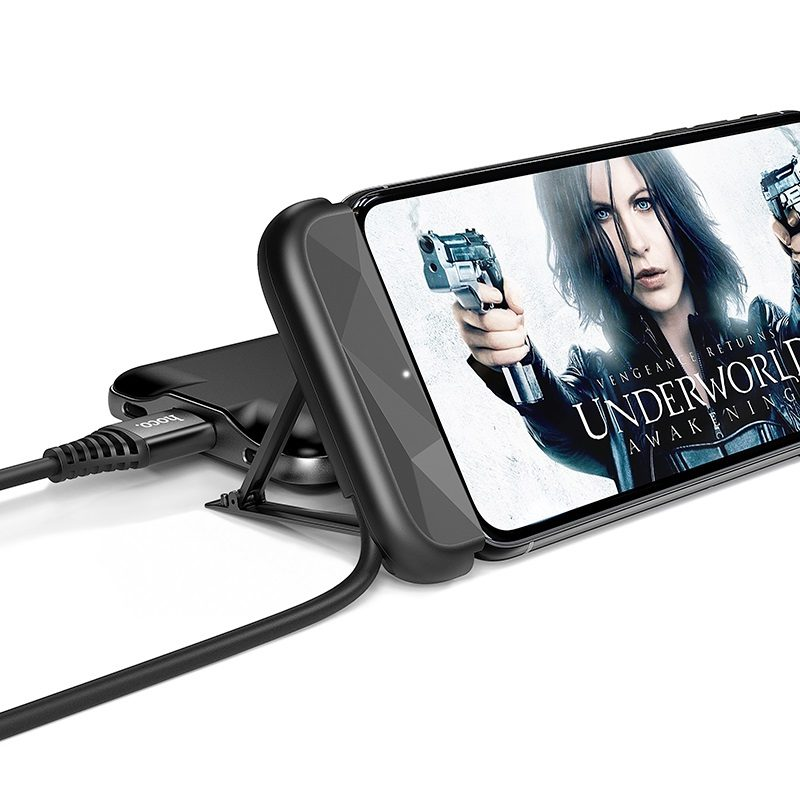 hoco u66 charging cable with bracket for lightning movies