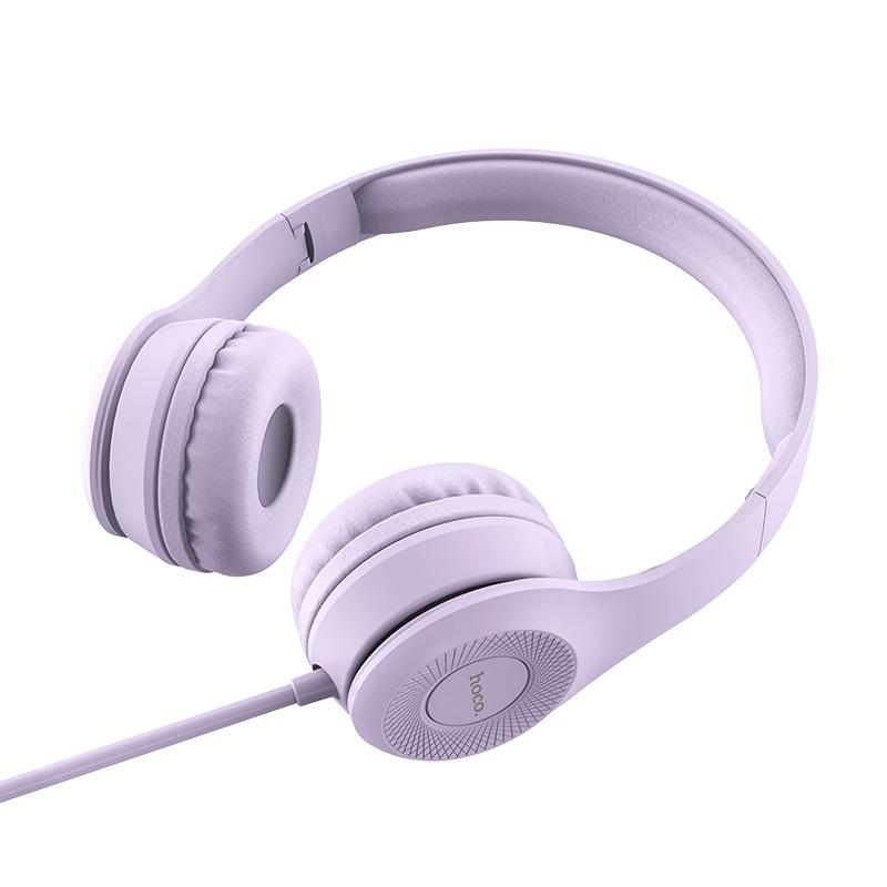 hoco w21 duyên dáng điều khiển dây tai nghe headbeam