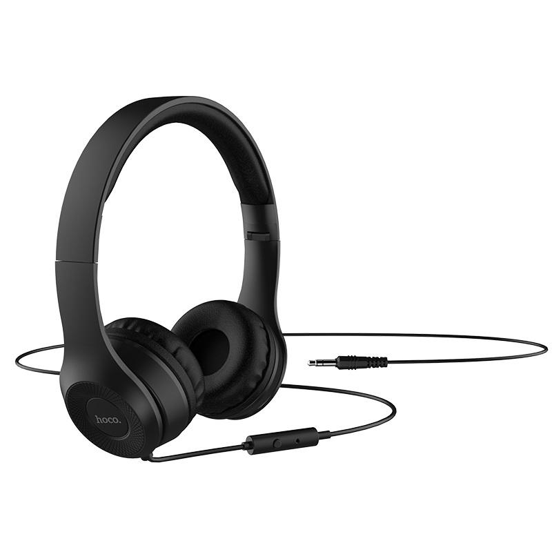hoco w21 duyên dáng dây điều khiển dây tai nghe