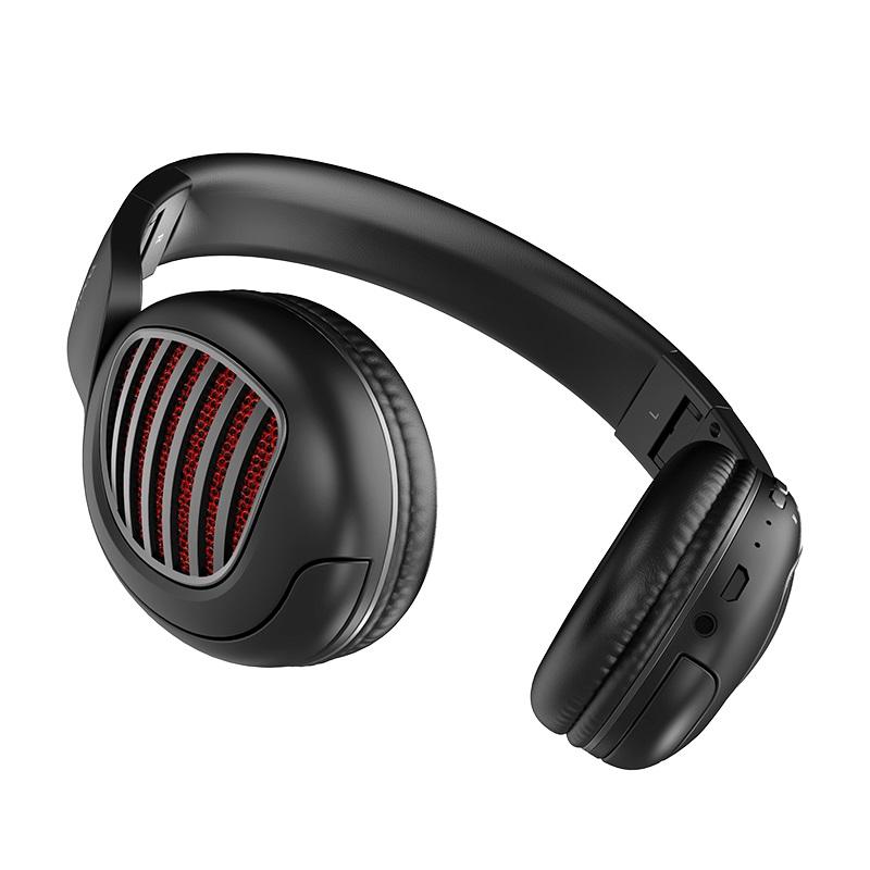 hoco w23 brilliant sound wireless headphones aux