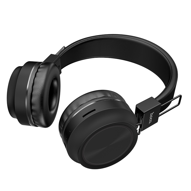 hoco w25 promise wireless headphones card slot