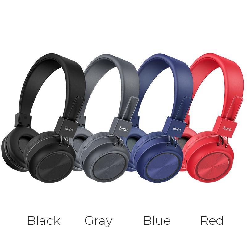 hoco w25 promise wireless headphones colors