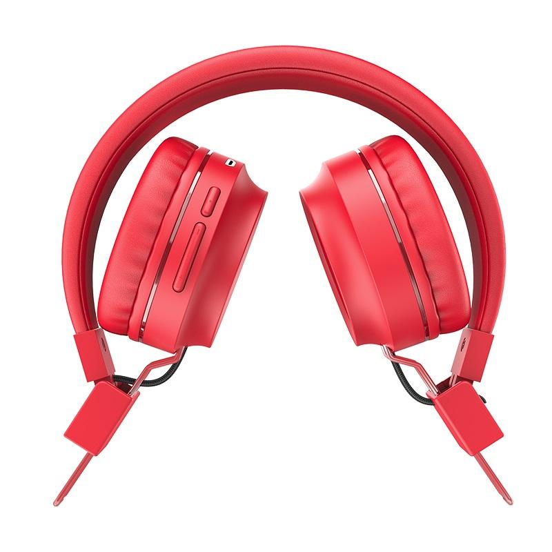 hoco w25 promise wireless headphones folded