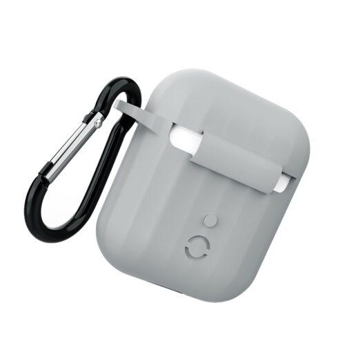 浩酷 wb10 airpods 1 2 硅胶保护套 背面