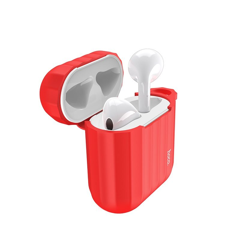 hoco wb10 airpods 1 2 silicone case earphones