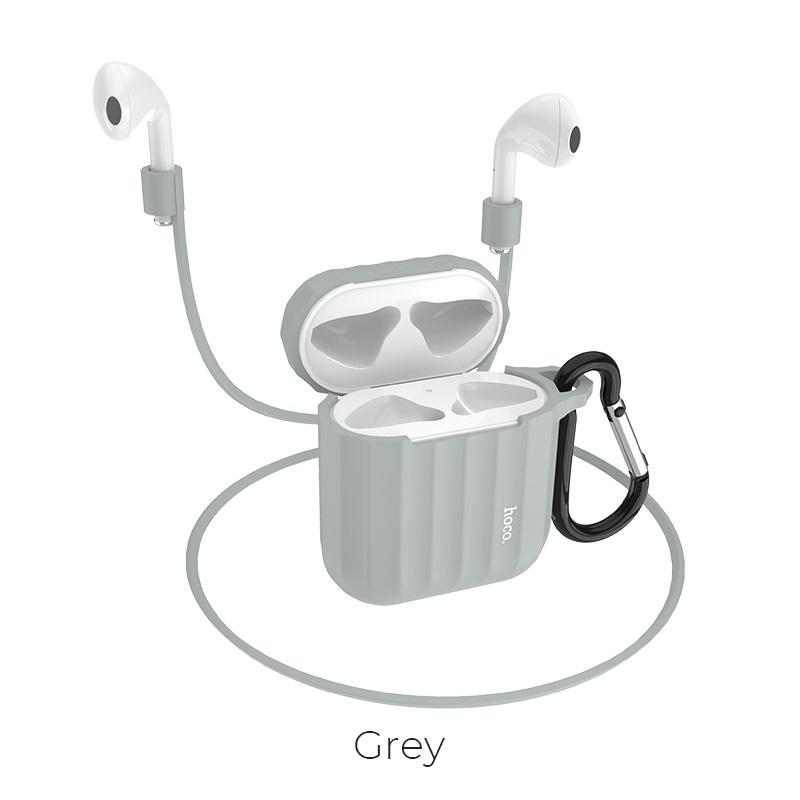 airpods 1 2 wb10 серый