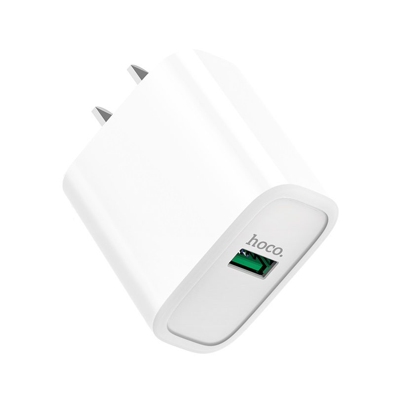 hoco c69 dynamic power fully compatible wall charger 3c logo