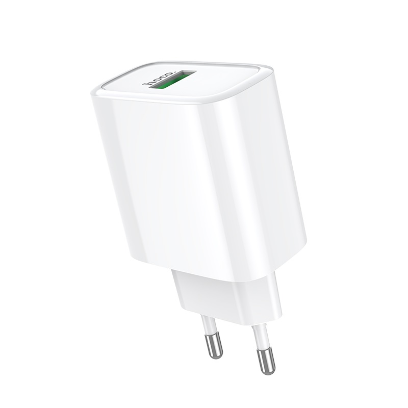 hoco c69a dynamic power fully compatible wall charger eu front