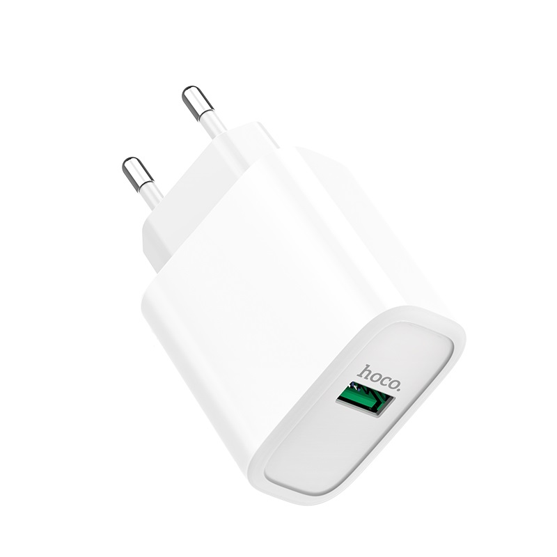 hoco c69a dynamic power fully compatible wall charger eu logo