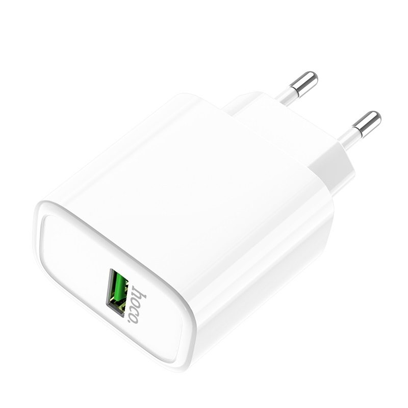 hoco c69a dynamic power fully compatible wall charger eu port