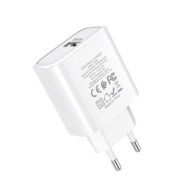 hoco c69a dynamic power fully compatible wall charger eu specs