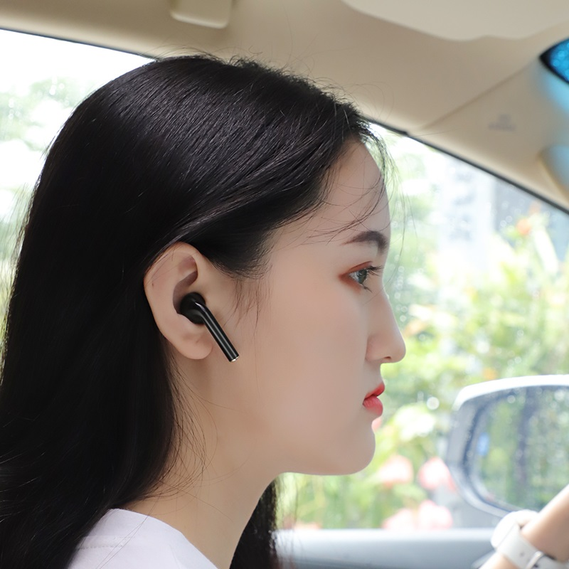 hoco e47 traveller wireless headset car charger hands free