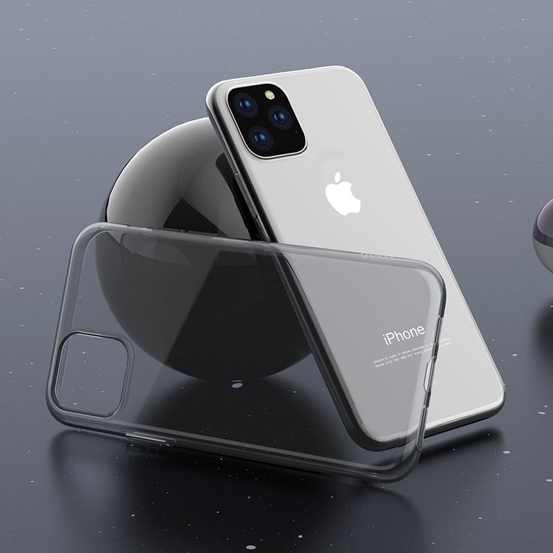 hoco iphone 5.8 6.5 light series tpu чехол интерьер черный