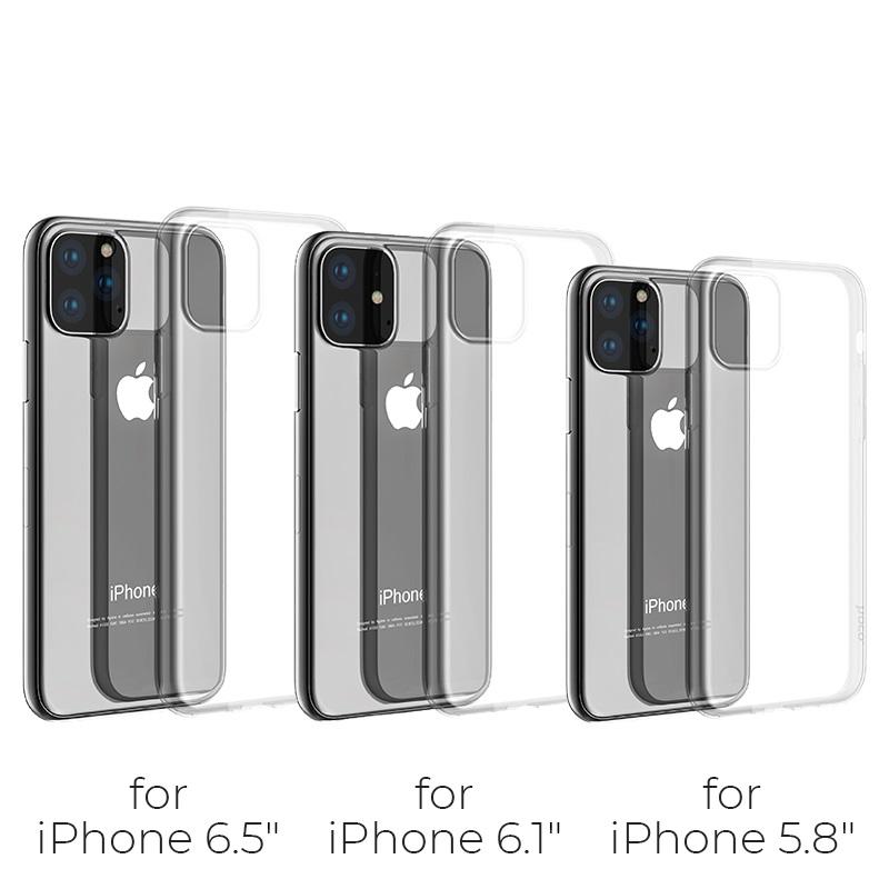 hoco iphone 5.8 6.5 light series tpu case models